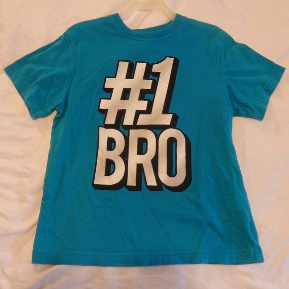 The Children's Place Blue #1 Bro T-shirt